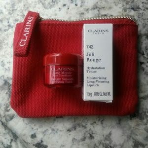Clarins Instant Smooth and Longwear Lipstick